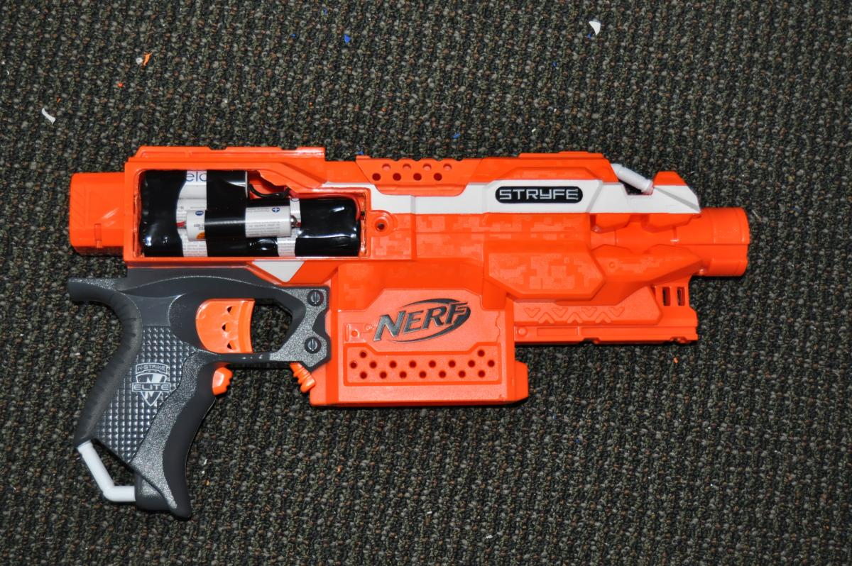 My Modified Stryfe Modifications Nerfhaven
