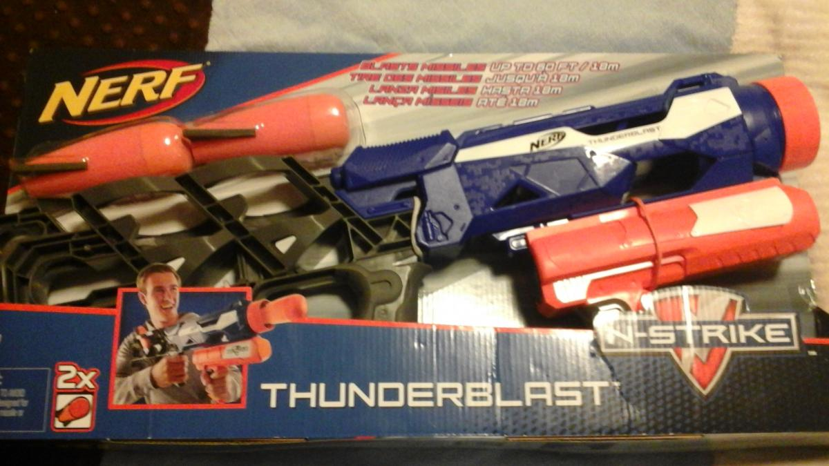Stock Thunderblast Vs Detachable Missile Launcher
