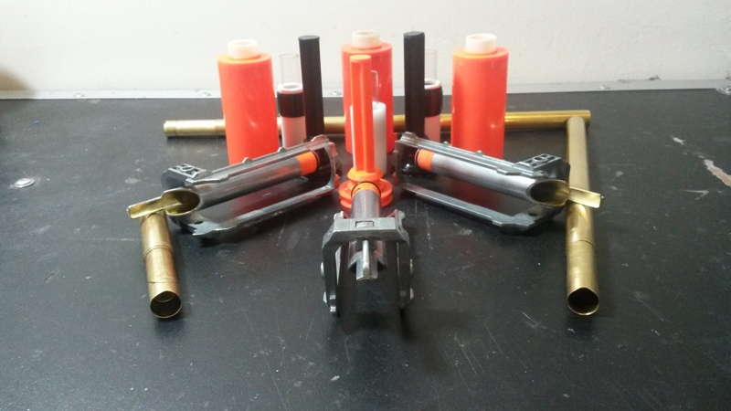 Retaliator with a Longshot plungertube and sealed breech
