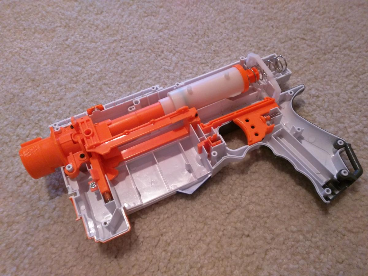 Nerf Retaliator Mod Help - Modifications - NerfHaven