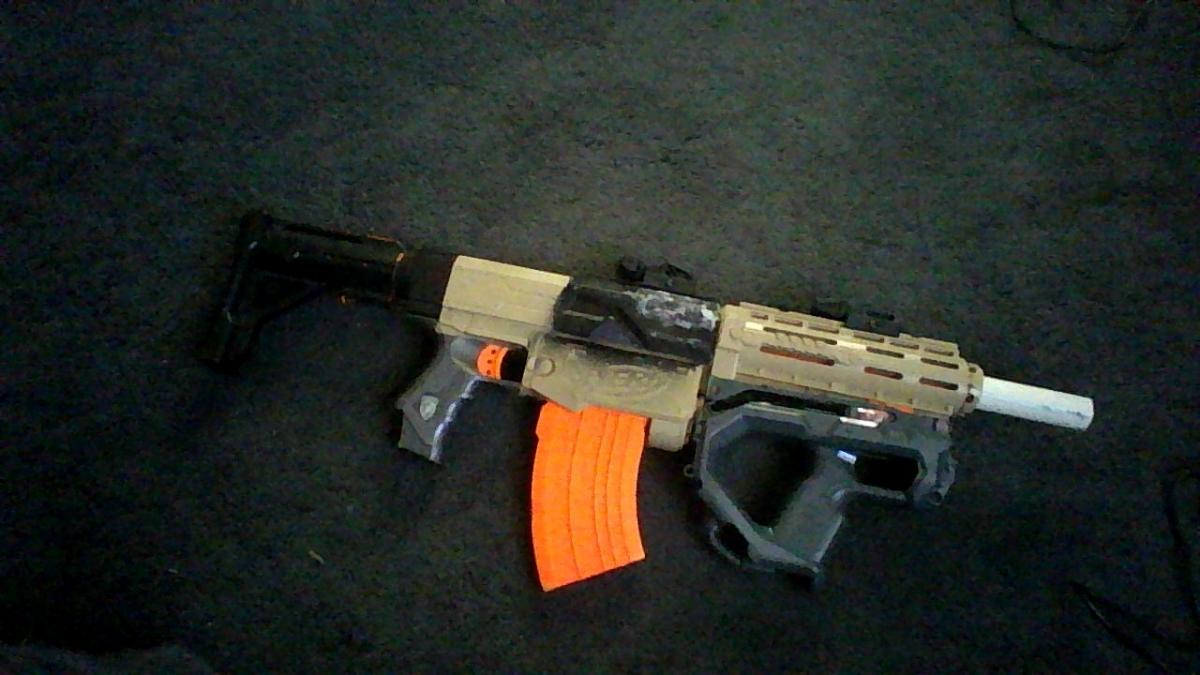 nerf sledgefire by billy2917 ...