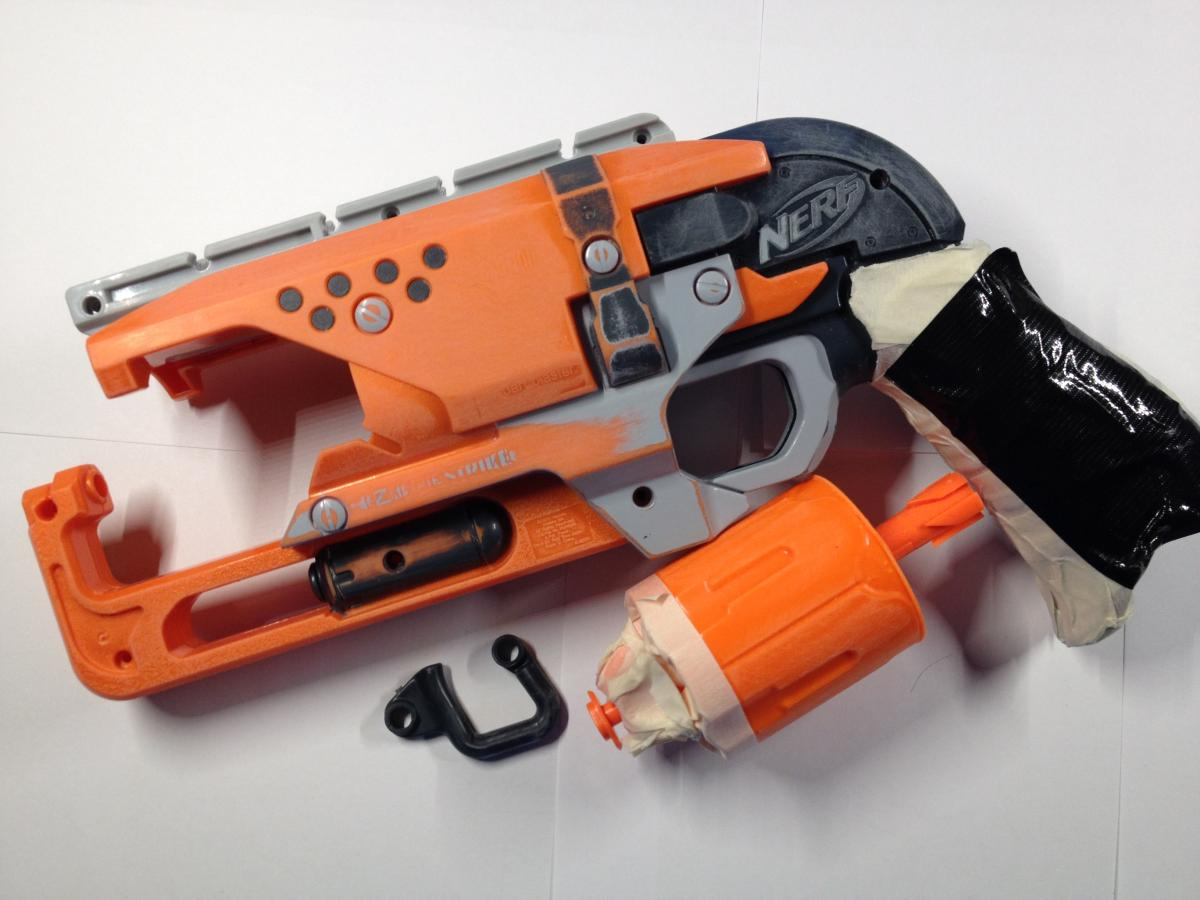 A Noobs Guide To The Nerf Hammershot Modifications Nerfhaven