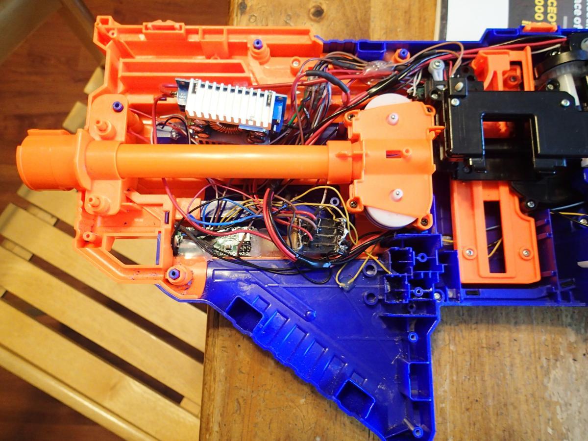 Nerf Voltmeter Wiring Diagram on