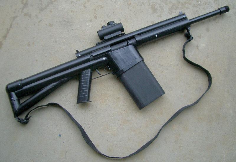 POTD: Nerf Inspired AR15 Pistol